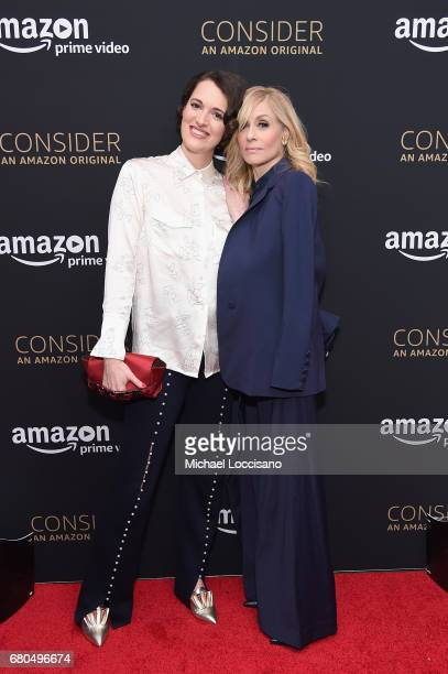 Actors Phoebe WallerBridge and Judith Light attend the FLEABAG Emmy For Your Consideration Event held at The Metrograph theater on May 8 2017 in New...