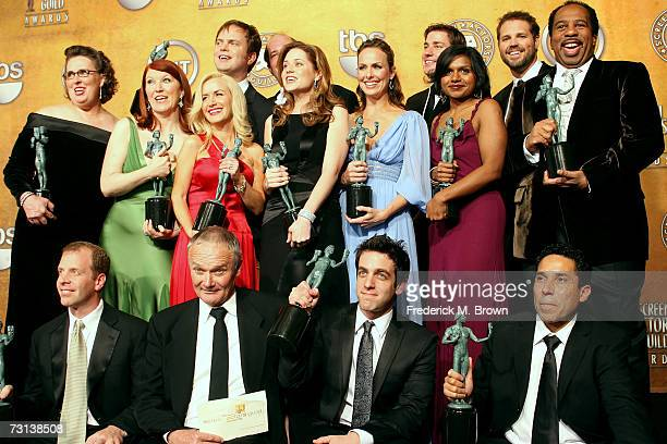 Actors Phyllis Smith, Kate Flannery, Angela Kinsey, Rainn Wilson, Brian Baumgartner, Jenna Fischer, Melora Hardin, John Krasinski, Mindy Kaling,...