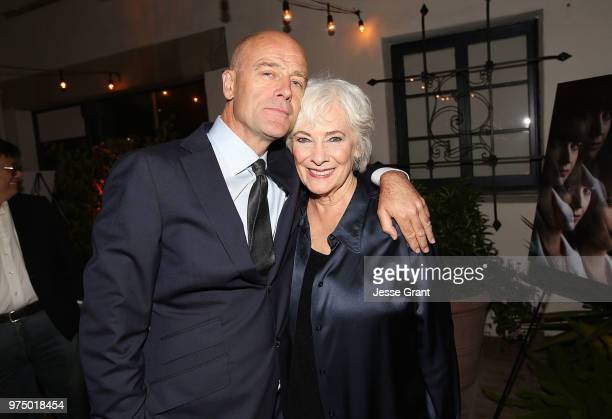 Actors Pip Torrens and Betty Buckley attend the premiere of AMC's 'Preacher' Season 3 on June 14 2018 in Los Angeles California