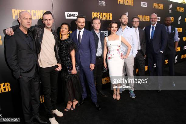 Actors Pip Torrens Joe Gilgun Ruth Negga Dominic Cooper Ian Colletti Julie Ann Emery producer Evan Goldberg producer Seth Rogen actor Graham McTavish...