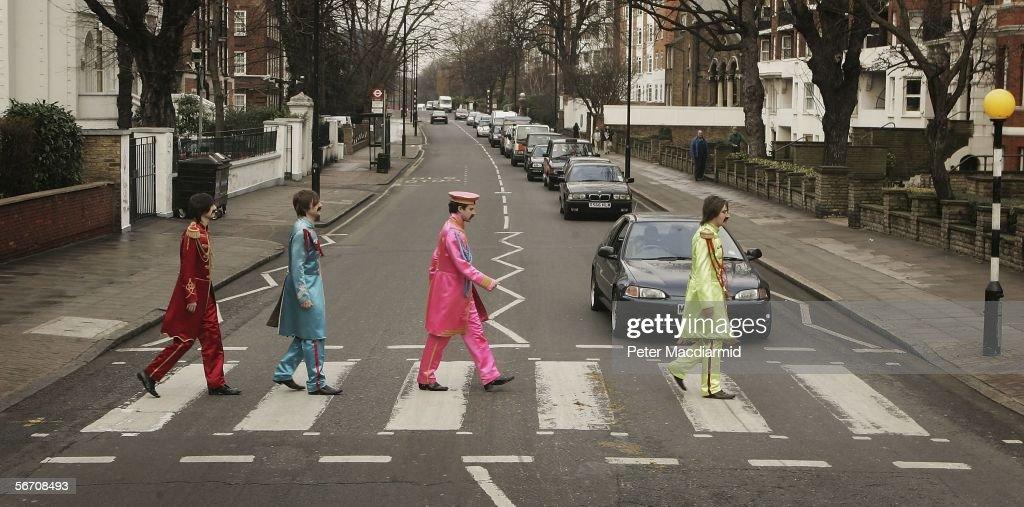 Beatles Lyrics Up For Auction : News Photo