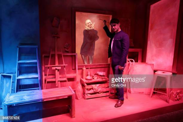 Actors Poppy Delevingne and Alex Rich attend the 'Genius Picasso' interactive experience at the Genius Studio an interactive installation designed to...