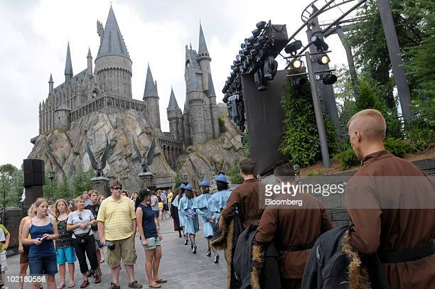 14 Universal Orlando Wizarding World Of Harry Potter Theme Park Preview Photos And Premium High Res Pictures Getty Images A beautiful castle with hidden passages. https www gettyimages com photos universal orlando wizarding world of harry potter theme park preview