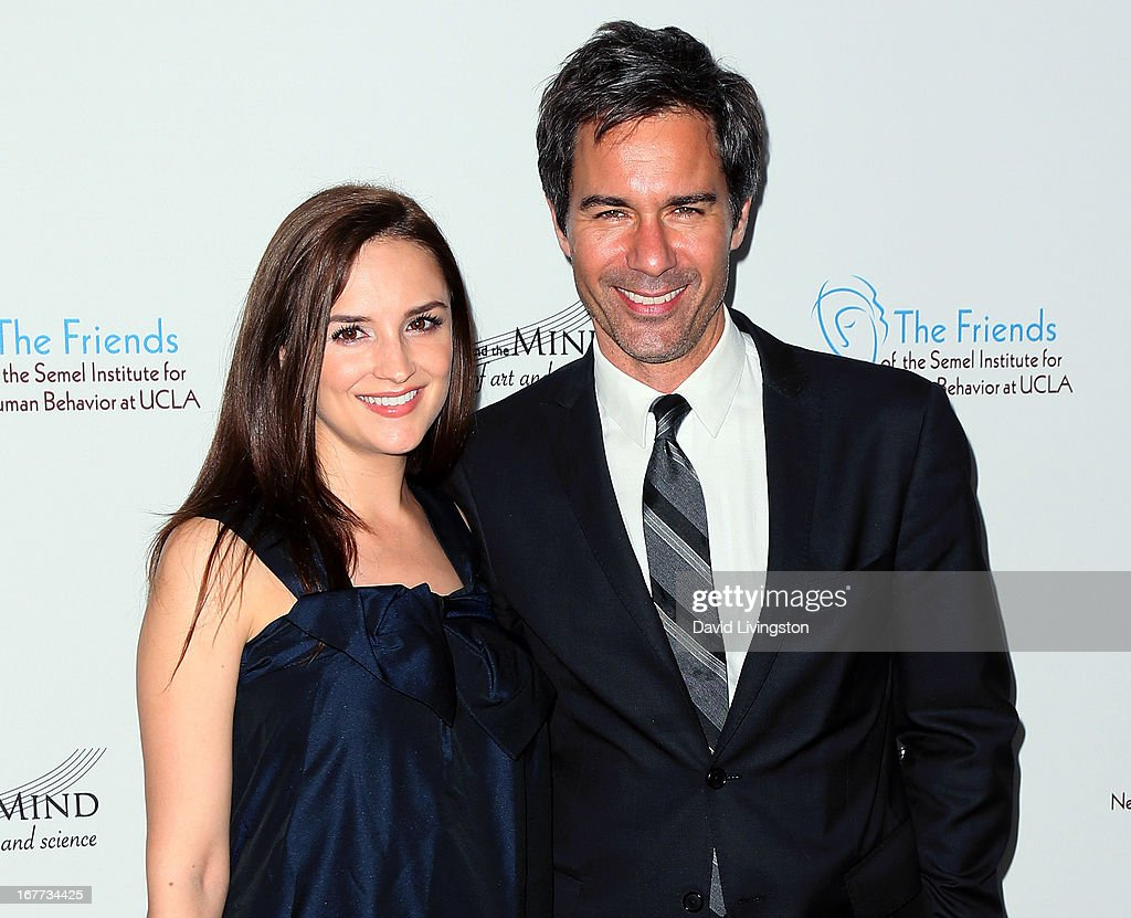Actors Rachael Leigh Cook (L) and Eric McCormack attend the Friends of the Semel Institute for Neuroscience & Human Behavior at UCLA's Inaugural Music and the Mind gala at the Regent Beverly Wilshire Hotel on April 28, 2013 in Beverly Hills, California.