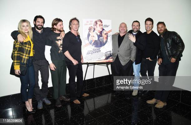 Actors Rachael Taylor Rhys Coiro Jake Weary William Fichtner and Louis Lombardi producer Anthony Mastromauro director Mark Steven Johnson and actor...