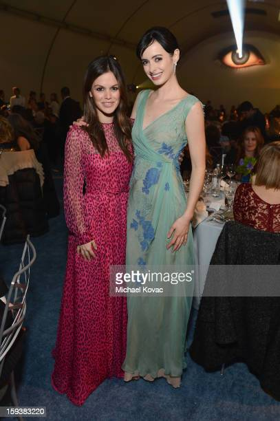 Actors Rachel Bilson and Krysten Ritter attend The Art of Elysium's 6th Annual HEAVEN Gala presented by Audi at 2nd Street Tunnel on January 12 2013...