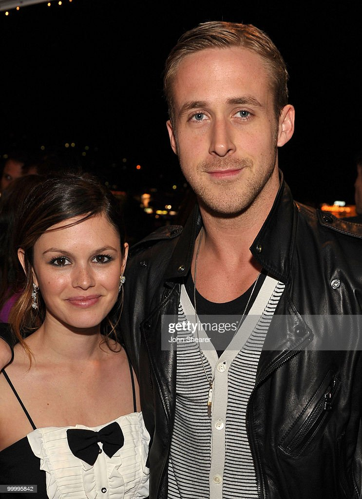 Actors Rachel Bilson and Ryan Gosling attend the 'Art of Elysium Paradis Dinner and Party' at Michael Saylor's Yacht, Slip S05 during the 63rd Annual Cannes Film Festival on May 19, 2010 in Cannes, France.