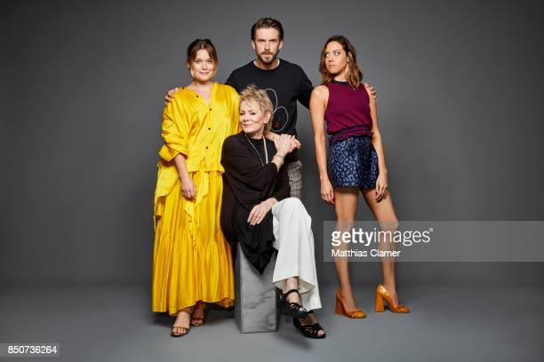 Actors Rachel Keller Jean Smart Dan Stevens and Aubrey Plaza from Legion are photographed for Entertainment Weekly Magazine on July 20 2017 at Comic...