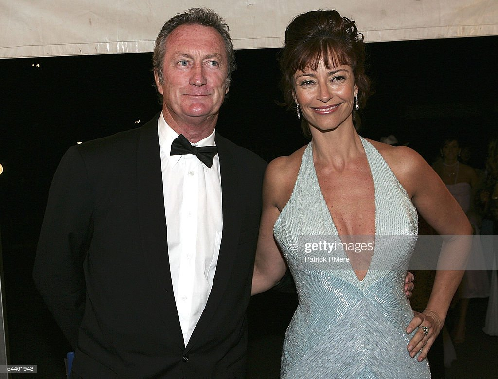Actors Rachel Ward And Bryan Brown Dance At The Mother Of All