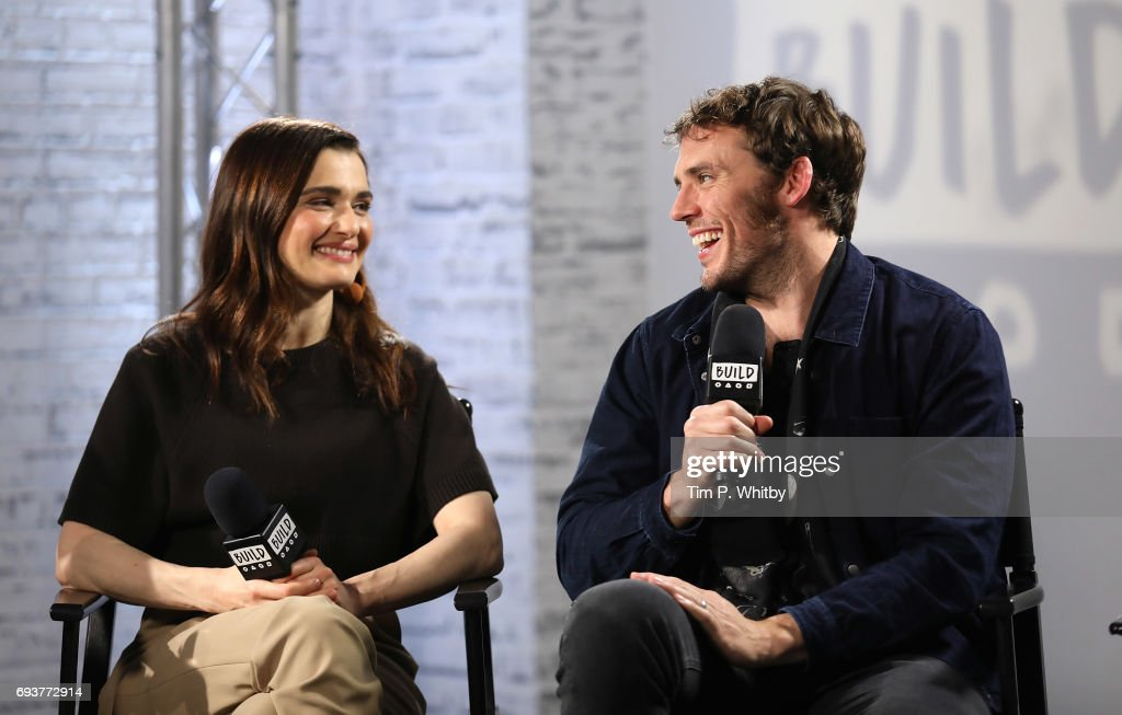 Actors Rachel Weisz and Sam Claflin from the cast of 'My Cousin Rachel' speak at the Build LDN event at AOL London on June 8, 2017 in London, England.