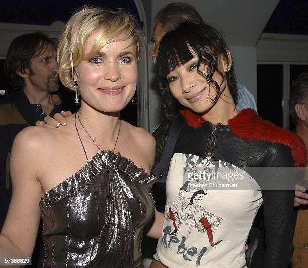 """Actors Radha Mitchell and Bai Ling attend the after party for the premiere of TriStar Pictures' """"Silent Hill"""" at the Egyptian Theatre on April 20,..."""