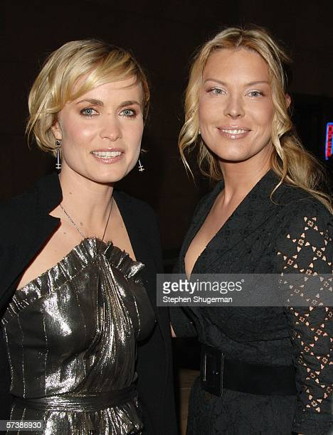 """Actors Radha Mitchell and Deborah Kara Unger attend the premiere of TriStar Pictures' """"Silent Hill"""" at the Egyptian Theatre on April 20, 2006 in..."""