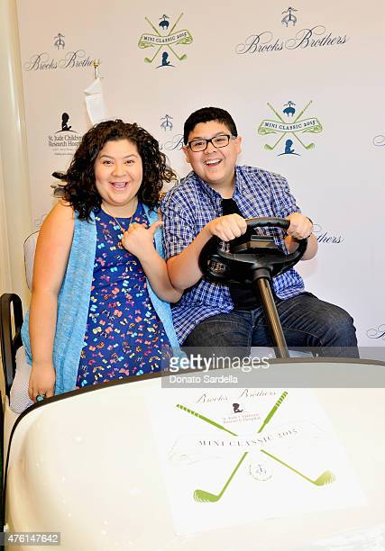 Actors Raini Rodriguez and Rico Rodriguez attend Brooks Brothers MINI CLASSIC Golf Tournament to benefit St. Jude Children's Research Hospital at...