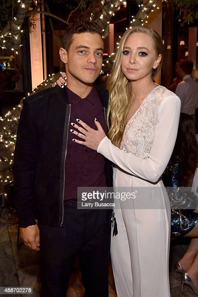 Actors Rami Malek and Portia Doubleday attend PEOPLE's Ones To Watch Event on September 16 2015 in West Hollywood California