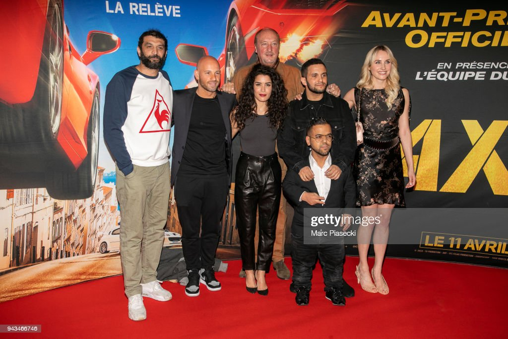 """Taxi 5"" : Paris Premiere At Le Grand Rex In Paris"