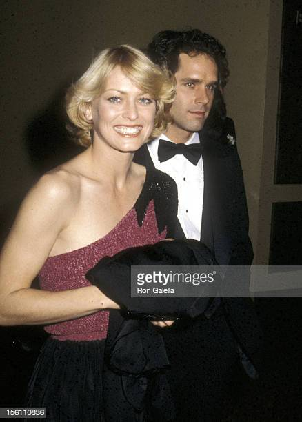 Actors Randi Oakes and Gregory Harrison attend the Sixth Annual People's Choice Awards on January 24 1980 at Hollywood Palladium in Hollywood...