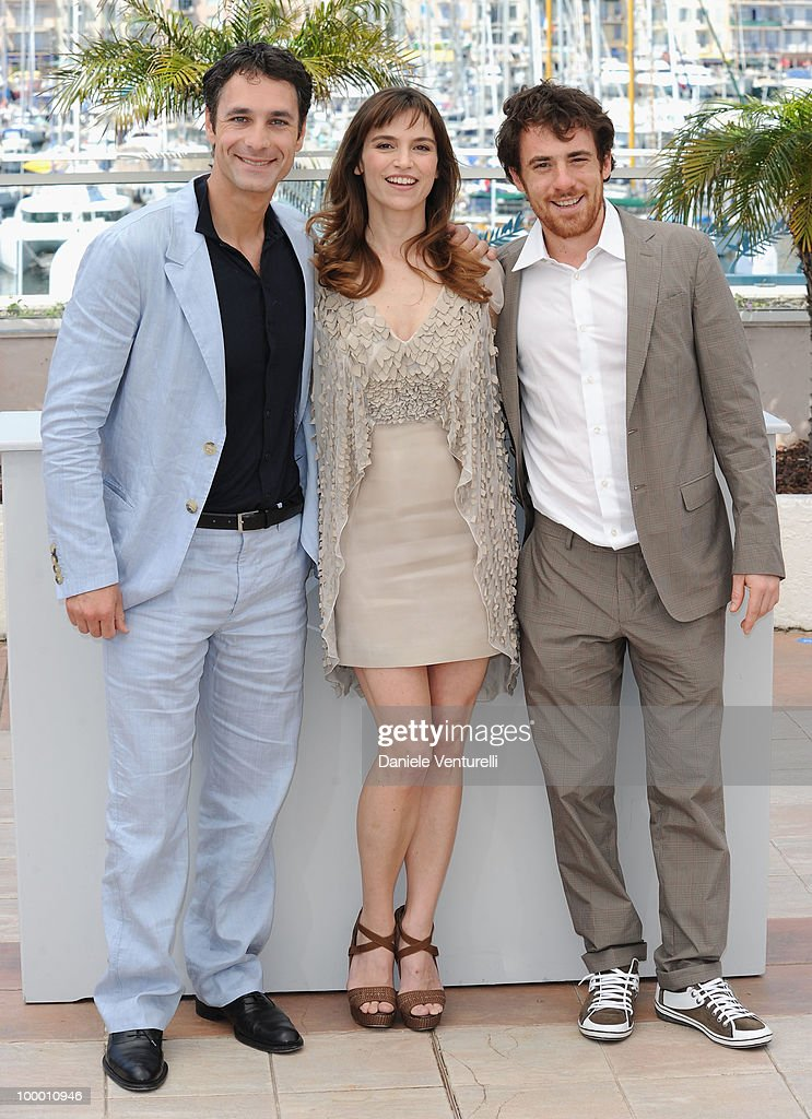 Actors Raoul Bova, Elio Germano and Stefania Montorsi attend the 'Our Life' Photo Call held at the Palais des Festivals during the 63rd Annual International Cannes Film Festival on May 20, 2010 in Cannes, France.