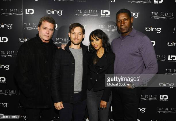 """Actors Ray Liotta, Toby Maguire, Kerry Washington and Dennis Haysbert attend Bing Presents """"The Details"""" Official Cast Dinner and After-Party on..."""