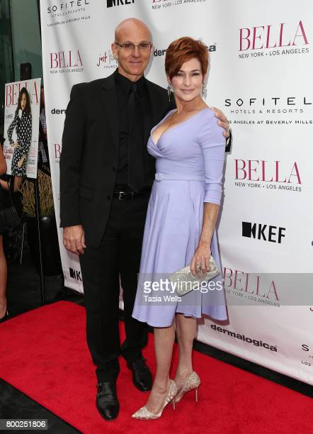 Actors Ray Proscia and Carolyn Hennesy attend the BELLA Los Angeles Summer Issue Cover Launch Party at Sofitel Los Angeles At Beverly Hills on June...