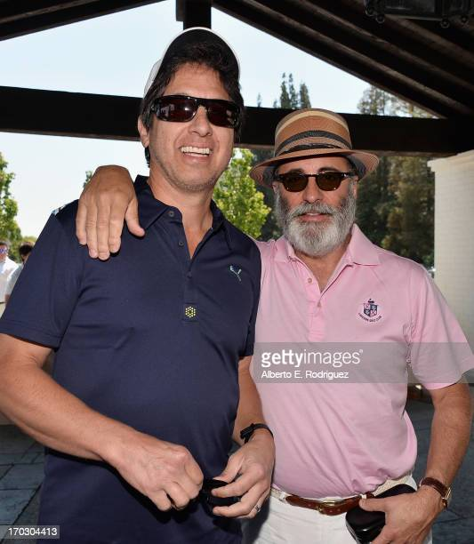 Actors Ray Romano and Andy Garcia attend the Screen Actors Guild Foundation 4th Annual Los Angeles Golf Classic at Lakeside Golf Club on June 10 2013...