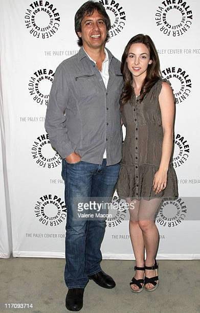 Actors Ray Romano and Brittany Curran attend An Evening With Men Of A Certain Age Hosted by the Paley Center for Media on June 21 2011 in Los Angeles...