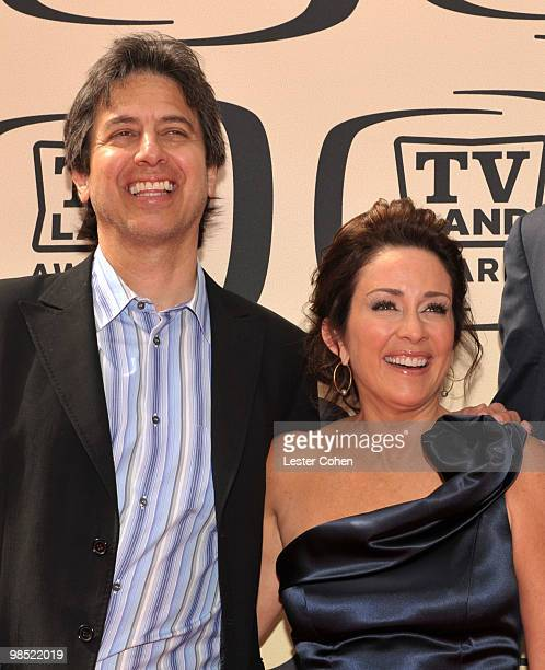 Actors Ray Romano and Patricia Heaton arrive at the 8th Annual TV Land Awards at Sony Studios on April 17 2010 in Los Angeles California