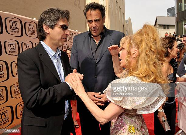 Actors Ray Romano Brad Garrett and Charo arrive at the 8th Annual TV Land Awards at Sony Studios on April 17 2010 in Los Angeles California
