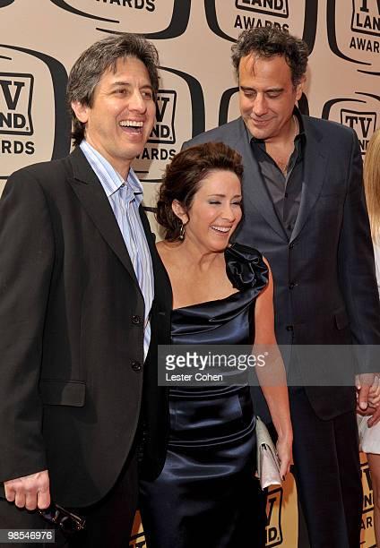 Actors Ray RomanoPatricia Heaton and Brad Garrett arrive at the 8th Annual TV Land Awards at Sony Studios on April 17 2010 in Los Angeles California