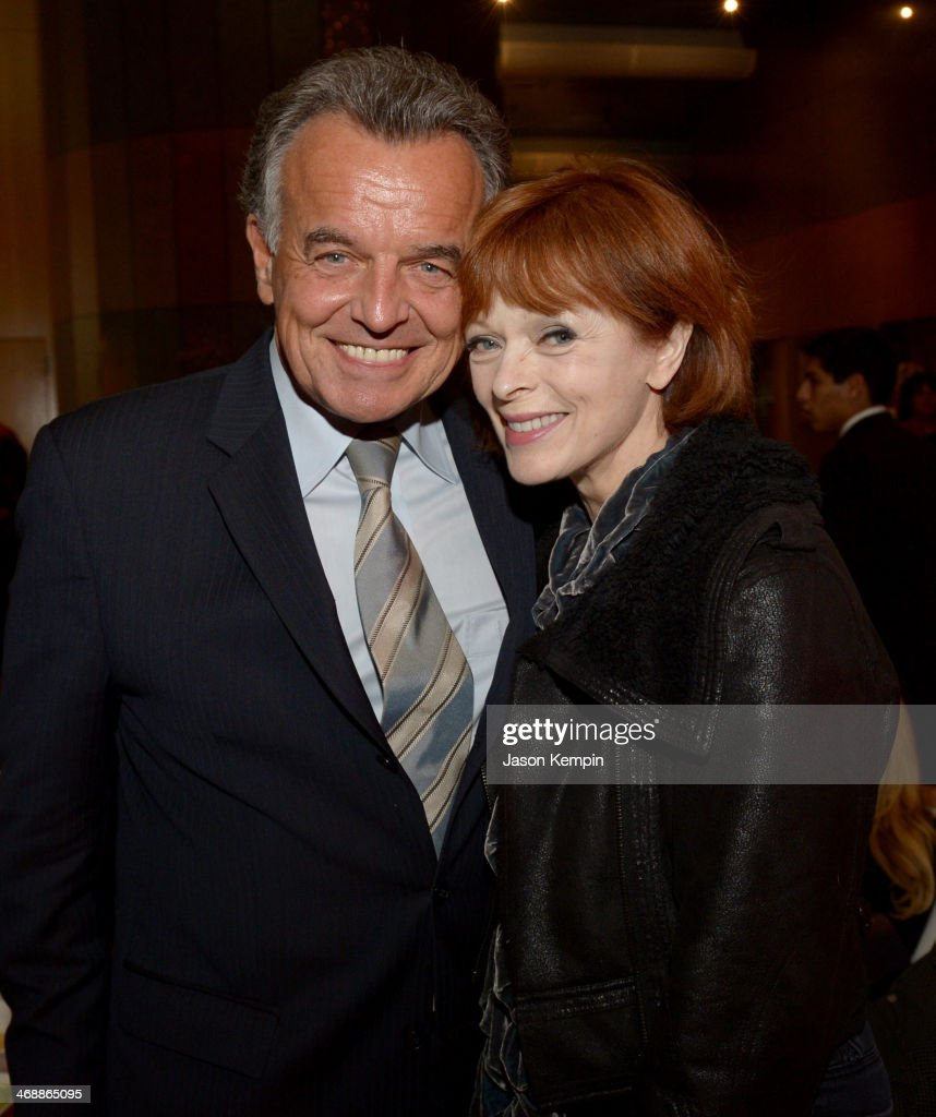 Actors Ray Wise (L) and Frances Fisher celebrate the world premiere of 'Farmed and Dangerous,' a Chipotle/Piro production at DGA Theater on February 11, 2014 in Los Angeles, California.