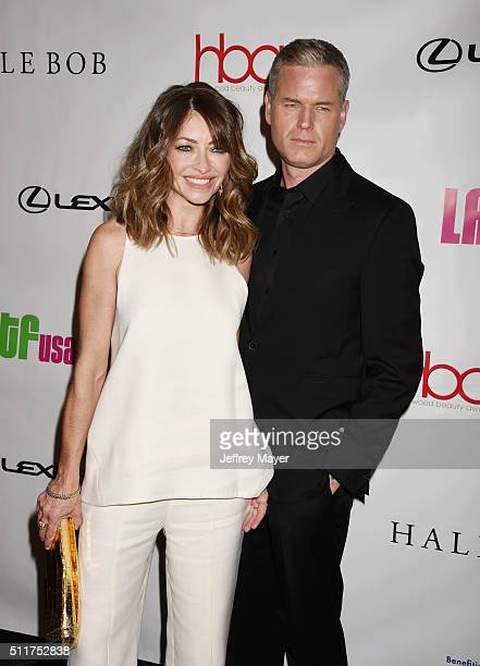 Actors Rebecca Gayheart and Eric Dane attend the 2nd Annual Hollywood Beauty Awards benefiting Children's Hospital Los Angeles at Avalon Hollywood on...
