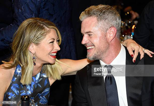 Actors Rebecca Gayheart and Eric Dane attend the 43rd AFI Life Achievement Award Gala honoring Steve Martin at Dolby Theatre on June 4 2015 in...