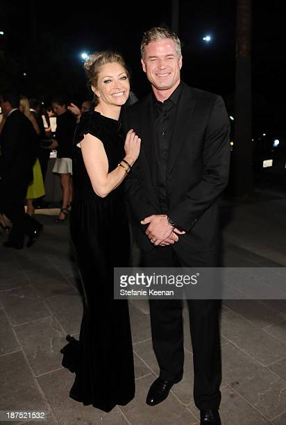 Actors Rebecca Gayheart and Eric Dane attend the second annual Baby2Baby Gala honoring Drew Barrymore at Book Bindery on November 9 2013 in Culver...