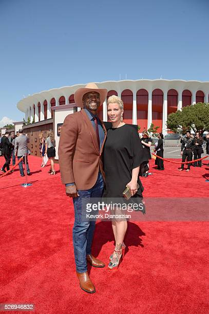 Actors Rebecca KingCrews and Terry Crews attend the 2016 American Country Countdown Awards at The Forum on May 1 2016 in Inglewood California