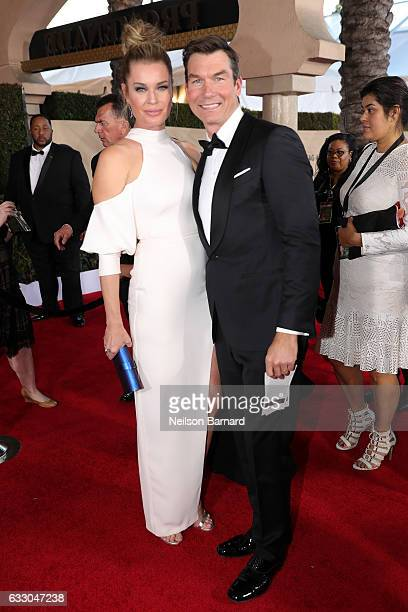 Actors Rebecca Romijn and Jerry O'Connell attend the 23rd Annual Screen Actors Guild Awards at The Shrine Expo Hall on January 29 2017 in Los Angeles...