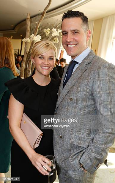 Actors Reese Witherspoon and Jim Toth attend the 7th Annual March of Dimes Celebration of Babies, a Hollywood Luncheon, at the Beverly Hills Hotel on...