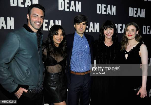 Actors Reid Scott Ginger Gonzaga Demetri Martin Mary Steenburgen and Gillian Jacobs attends CBS Films Special Screening of DEAN at the ArcLight in...