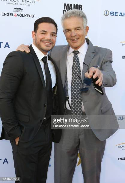 Actors Rene Rosado and Tony Denison attend Covenant House Gala 2017 at The Globe Theatre on April 29 2017 in Universal City California