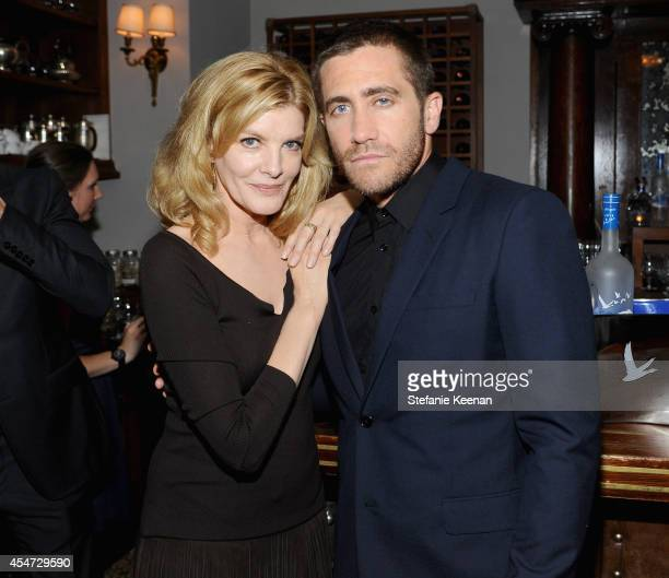 Actors Rene Russo and Jake Gyllenhaal at the 'NIGHTCRAWLER' World Premiere party hosted by GREY GOOSE vodka and Soho House Toronto for TIFF on...