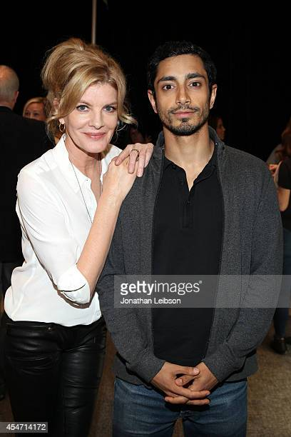 Actors Rene Russo and Riz Ahmed attend the Variety Studio presented by Moroccanoil at Holt Renfrew during the 2014 Toronto International Film...