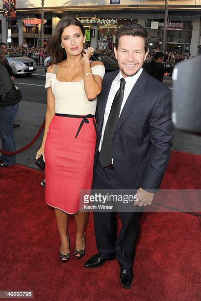 Actors Rhea Durham and Mark Wahlberg arrive at the Premiere of Universal Pictures' 'Ted' sponsored in part by AXE Hair at Grauman's Chinese Theatre...