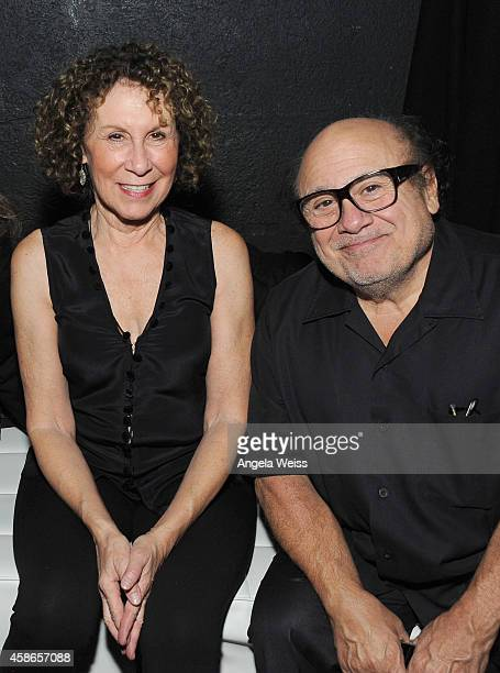 Actors Rhea Perlman and Danny DeVito attend the International Myeloma Foundation 8th Annual Comedy Celebration benefiting The Peter Boyle Research...