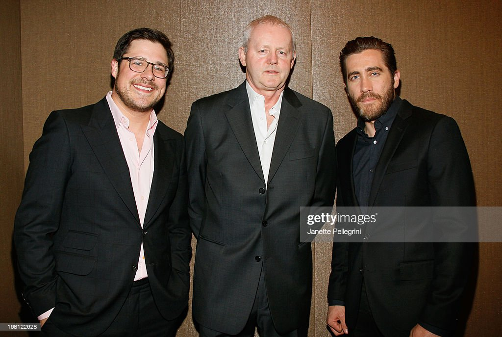 Actors Rich Sommer, David Morse, and Jake Gyllenhaal attend the 28th Annual Lucille Lortel Awards on May 5, 2013 in New York City.