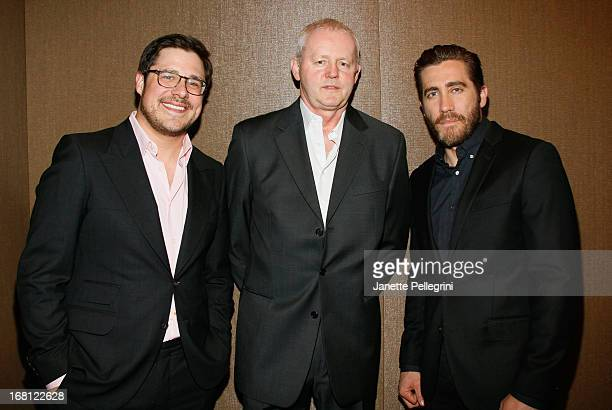 Actors Rich Sommer David Morse and Jake Gyllenhaal attend the 28th Annual Lucille Lortel Awards on May 5 2013 in New York City