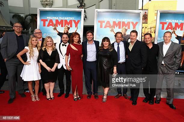 Actors Rich Williams, Mia Rose Frampton, Sarah Baker, Filmmaker Ben Falcone, actress Susan Sarandon, actor Mark Duplass, filmmaker Melissa McCarthy,...
