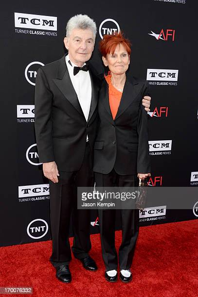 Actors Richard Benjamin and Paula Prentiss attend AFI's 41st Life Achievement Award Tribute to Mel Brooks at Dolby Theatre on June 6 2013 in...