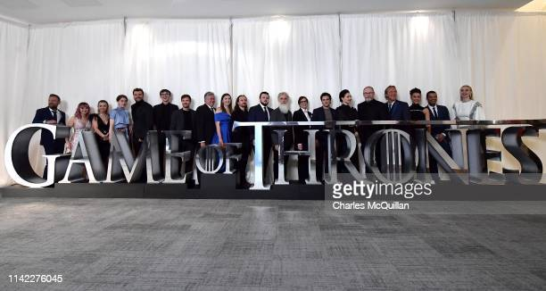 Actors Richard Dormer Maisie Williams Kerry Ingram Gemma Whelan Pilou Asbæk Isaac Hempstead Wright Joe Dempsie Conleth Hill Hannah Murray Ben...
