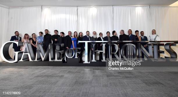 Actors Richard Dormer, Maisie Williams, Kerry Ingram, Gemma Whelan, Pilou Asbæk, Isaac Hempstead Wright, Joe Dempsie, Conleth Hill, Hannah Murray,...