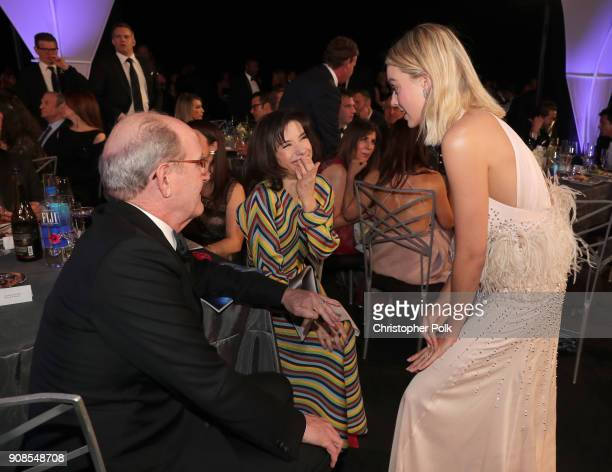 Actors Richard Jenkins Sally Hawkins and Margot Robbie attend the 24th Annual Screen Actors Guild Awards at The Shrine Auditorium on January 21 2018...