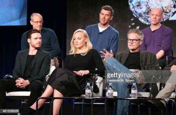Actors Richard Madden Abbie Cornish Sam Shepard David Zucker Executive Producer Paul Scheuring Writer and Executive Producer and Simon Cellan Jones...