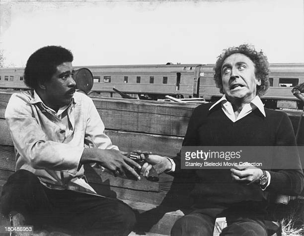 Actors Richard Pryor and Gene Wilder in a scene from the movie 'Silver Streak' 1976